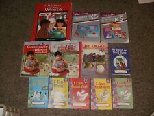 Abeka K5 Kindergarten Curriculum Phonics Social Studies Big Book Visuals Gods Wo