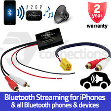 Smart ForTwo Bluetooth A2DP Music Streaming Interface Adapter radio AUX input