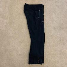 Columbia Men Powder Keg Titanium OMNI Waterproof Black Ski Snow Pants Medium 34