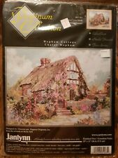 NEW JANLYNN PLATINUM COLLECTION WEPHAM COTTAGE CHALET COUNTED CROSS STITCH KIT