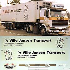 Scania Ville Jensen Trasporto Danimarca (DK) 1:87 camion decalcomania autocarro