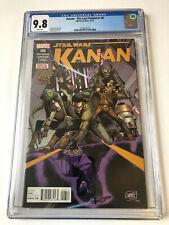 Kanan The Last Padawan #6 CGC 9.8 HOT🔥1st Full App & Cover SABINE WREN & REBELS