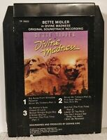 ULTRA RARE! Bette Midler Divine Madness Soundtrack 8 Track Tape