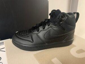Nike Court Borough Mid 2 Boot PS Neu Gr:29,5 Schwarz Air Force 1 Sneaker High