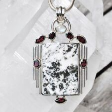 Anhänger für Damen mit echten Edelsteinen mit Granate