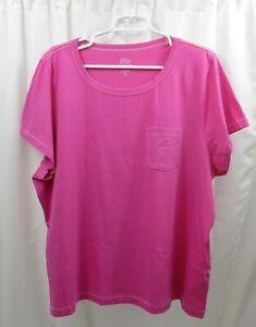 Women's J Crew Pocket T Shirt 3X