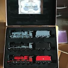 3 x Harry Potter Collectors Die-cast Metal Hogwarts Express Train Carriage Set