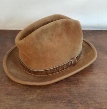 7508e587d7f87 Fedora Trilby Vintage Hats for Men 7 1 8 Size for sale