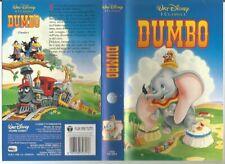 VIDEOCASSETTA VHS-DUMBO-WALT DISNEY-I CLASSICI-VS 4357-FEBBRAIO 1992