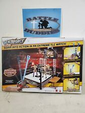 WWE Flexforce High Flying Fury, Ring Flexforce Playset With Launcher Mattel