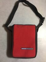 Official Nintendo Gameboy Advance SP TRAVEL CASE Bag Red With Strap