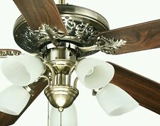 OCEAN LAMP JFOL52016 STUNNING CEILING FAN W/LIGHTS,REVERSIBLE BLADES AND REMOTE