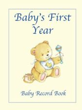 Baby's First Year - Baby Record Book,