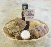 Goat Milk Soap Bundle with Soap, Lotion, and Bath Bomb