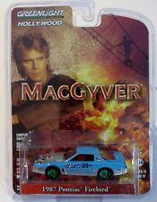 Greenlight 44770-D MacGyver 1987 Pontiac Firebird 1:64 Scale Green Wheel CHASE