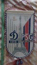 Pennant Dynamo Kiev - PSG France 1994, original, rare
