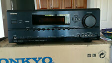 Onkyo TX-SR604 AV 7.1 Channel Home Theater Receiver HDMI with Remote Bundle