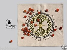 Rune Casting Cloth Yggdrasil Rune Divination Asatru Odinism Witchcraft Witch