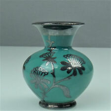 EDELSTEIN Bavaria vaso con silveroverlay dai 50er - & 60er anni (170415)