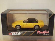 1/43 Scale Corgi Detail Cars Model 212: Chevrolet Corvette ZR-1 Soft Top