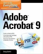 How to Do Everything: Adobe Acrobat 9 (How to Do Everything)-ExLibrary