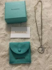 Tiffany & Co Silver Man in the Moon Pendant Double Chain Necklace