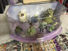 Disney Store Princess and the Frog Figurine Playset 7 pieces