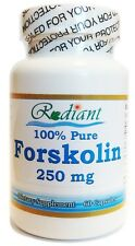 250mg Pure Forskolin Weight Control 20% Coleus Forskolii Extract 30 Servings