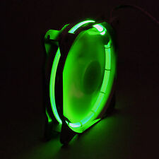 Sphere 120mm LED RING ventilador de chasis - 1200 rpm-modding case fan-verde, Green
