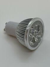 5 Paar (10Stk.) LED GU10, 4 Watt, 3300K / Warmweiß, 390 Lumen = 40 Watt Halogen