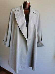 RRP €880  MARINA RINALDI Grey Over Coat  PLUS size MR 31-USA 22W_IT60_D52_GB26