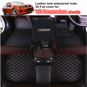 3D Moulded PU leather Waterproof Car Floor Mats for Holden VE Commodore