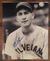 BOB LEMON Signed Autographed 8x10 Photo Cleveland Indians HOF