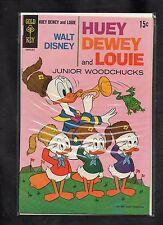 WALT DISNEY HUEY, DEWEY AND LOUIE & JUNIOR WOODCHUCKS #3 VG+  1968 GOLD KEY
