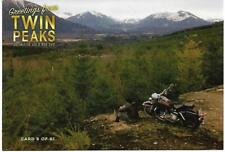 TWIN PEAKS GOLD BOX DVD POSTCARD #8 JAMES HURLEY'S HARLEY POST CARD