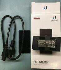 Ubiquiti Networks PoE Injector - 24VDC, 12W (0.5A), Model# PoE-24-12W