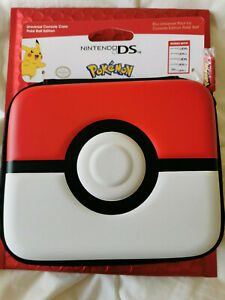 NINTENDO 2DS 3DS XL NEW 2DS 3DS XL OFFICIAL POKEMON POKEBALL CASE BRAND NEW