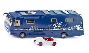 Siku 1943 Volkner Mobil Performance Motor Home Camping + Wiesmann Car Scale 1:50