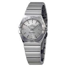 Omega Constellation Stainless Steel Ladies Watch 123.10.27.60.02.002