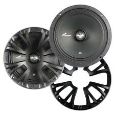 """Audiopipe APMB8ST 8"""" Mid Bass 300 Watts Max with Grills Pair"""
