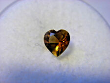 Heart Transparent Loose Citrines