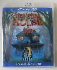 BLU-RAY MONSTER HOUSE EN 3D - 3D EN FULL HD