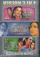 SAJAN SAHILI / Bina SUHAGAN / MAIN TULSI Tere Aangan Ki 3 Disc DVD All Zone