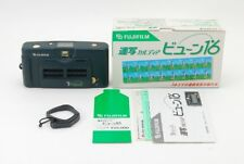 [Rare!! MINT] Fujifilm Fuji Cardia Rensha Byu-N16 Film camera w/ Box ,Strap JPN