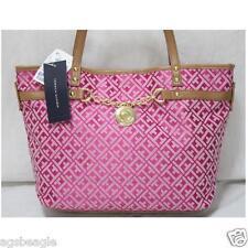 Tommy Hilfiger 6929399 691 Signature Shopper Raspberry White Agsbeagle