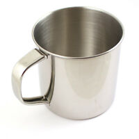 Stainless Steel Camping Outdoor Military Army Hiking Travel Picnic Mug Cup 500ml
