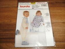 BURDA-BABY Schnittmuster 9956               KLEID+OVERALL              62-92