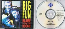 Big Fun - Blame it on the boogie -  Maxi CD - PWL Mix 1989 Zomba Records