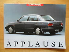 DAIHATSU Applause orig 1997 UK Market sales brochure