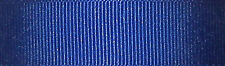 6mm Berisfords Royal Blue Grosgrain Ribbon 20m Reel